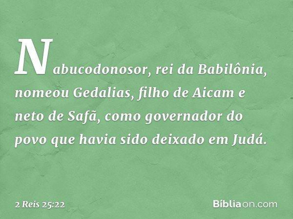 reis da babilonia