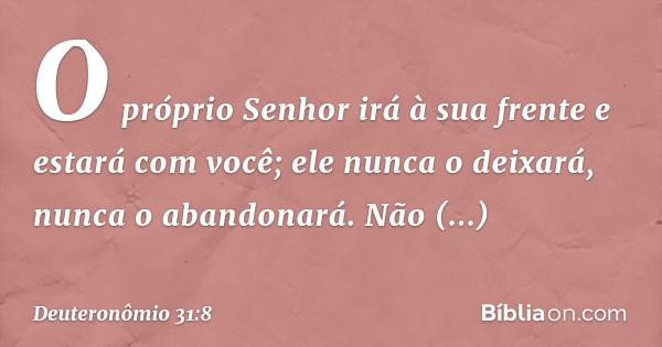 Deuteronômio 318 Bíblia