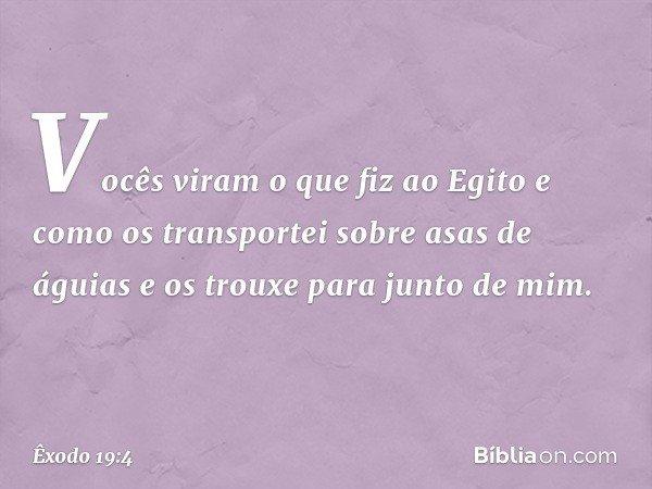 Exodo 19 4