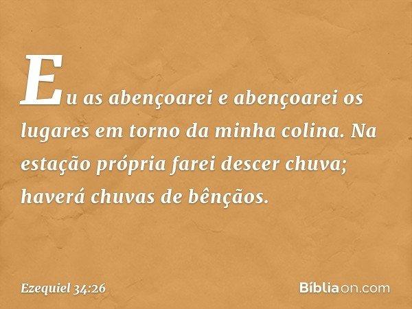 Ezequiel 3426 Bíblia