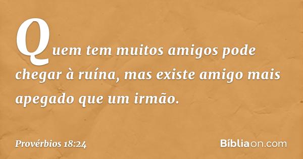 Provérbios 1824 Bíblia