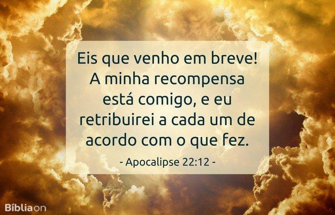 Apocalipse 22:12