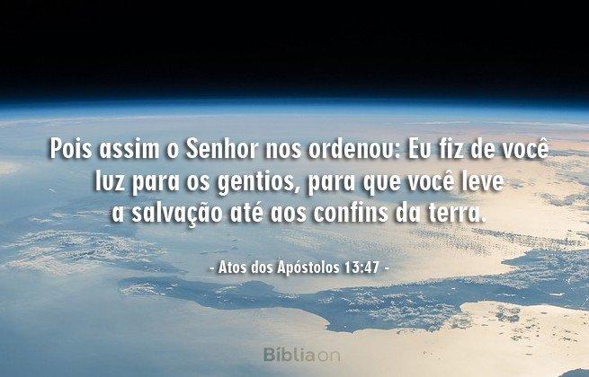 Atos 13:47
