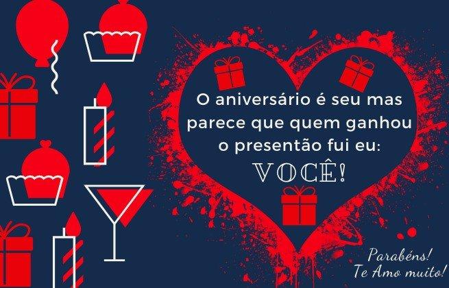 mensagem de aniversário romântica