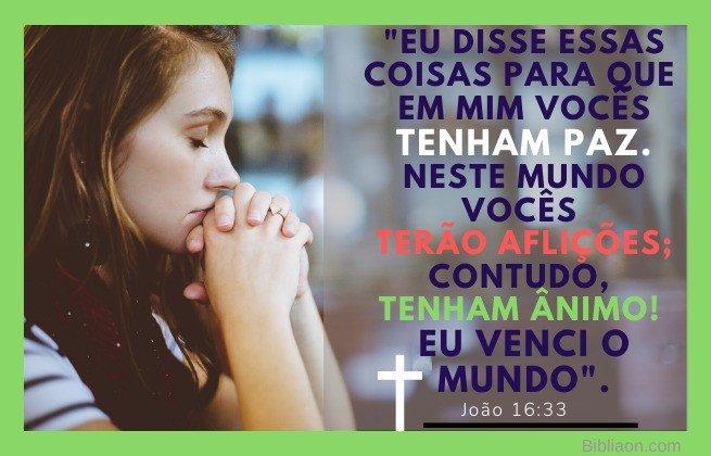 Tenham bom ânimo - João 16:33