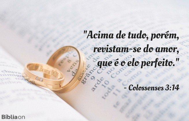 O Elo Perfeito Mensagem Para Casais Bíblia