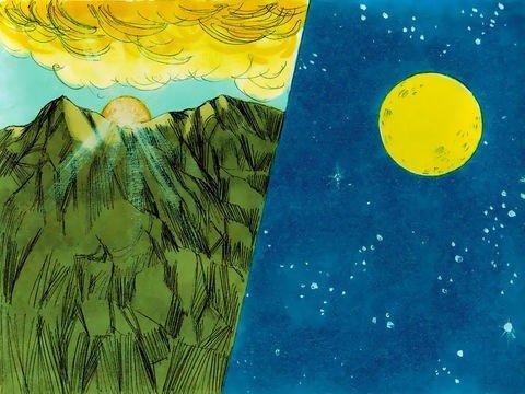 Quarto dia da criação - Deus criou o sol e as estrelas