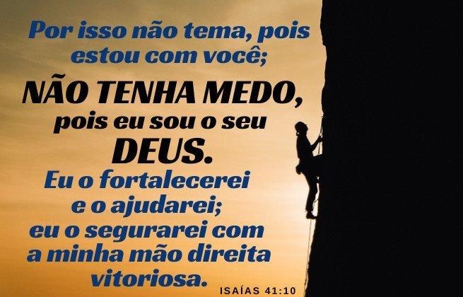 Deus está presente - motivos para não temer o fim - Isaías 41:10