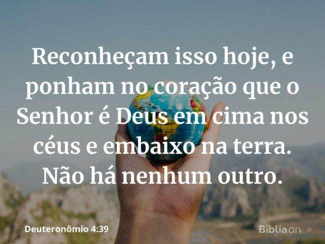 O Senhor é Deus