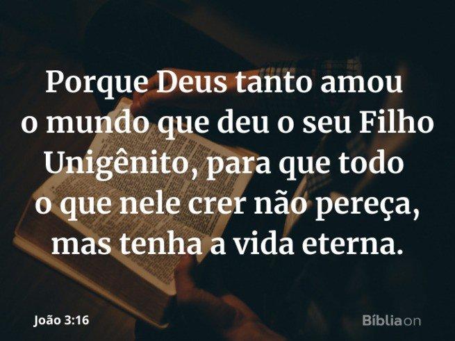 Evangelismo João 3:16