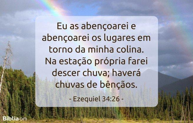 Ezequiel 34:26
