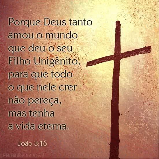 Deus amou o mundo