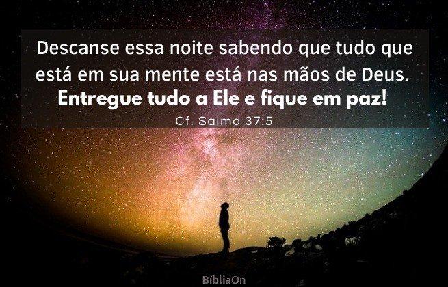 Imagem de um homem olhando para o céu estrelado - via láctea - Tudo está nas mãos de Deus - Cf. Salmos 37:5