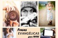 Frases evangélicas para fotos