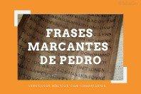 10 Frases marcantes do apóstolo Pedro