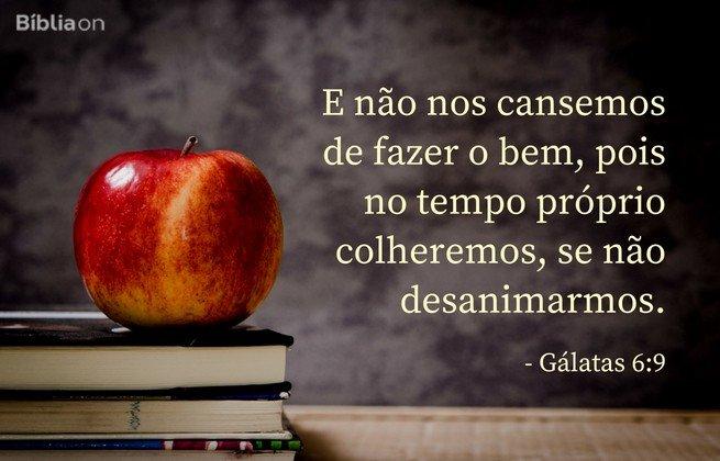 galatas 6:9