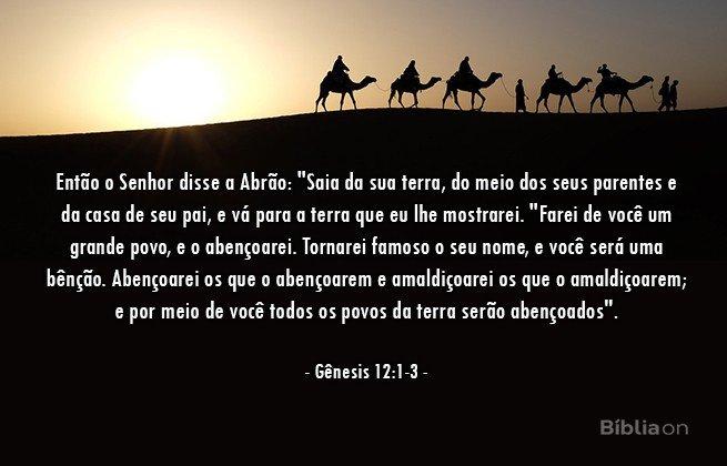 Gênesis 12:1-3