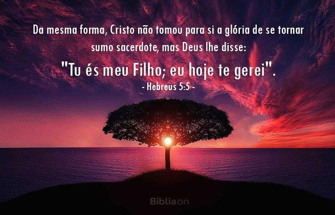 Hebreus 5:5