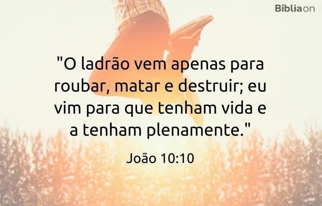 João 10:10