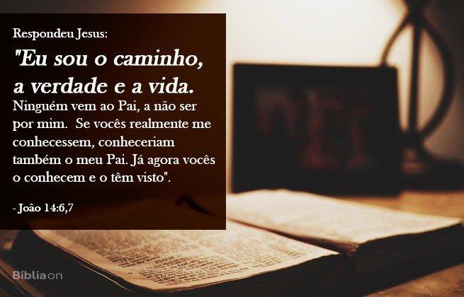 João 14:6-7