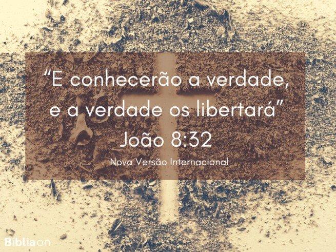 João 8:32 NVI