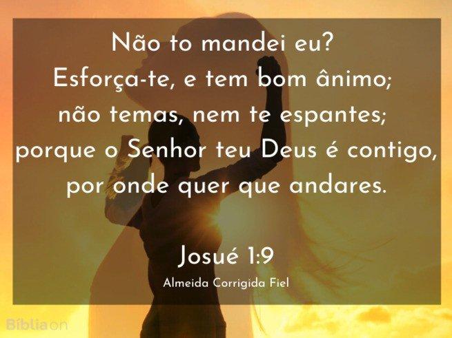 Josue 1:9 ACF
