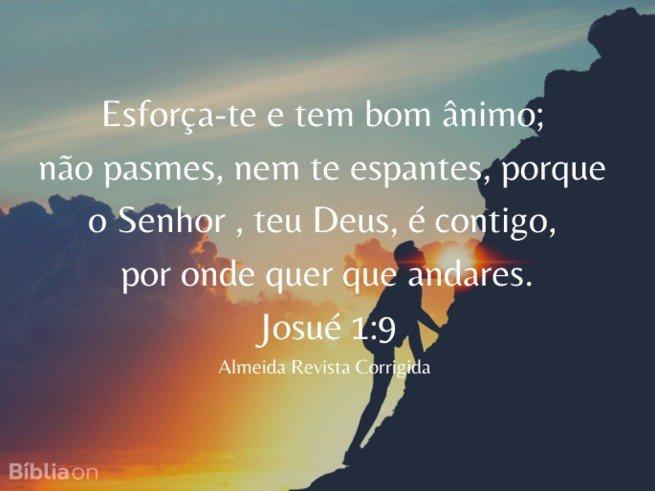 Josue 1:9 ARC