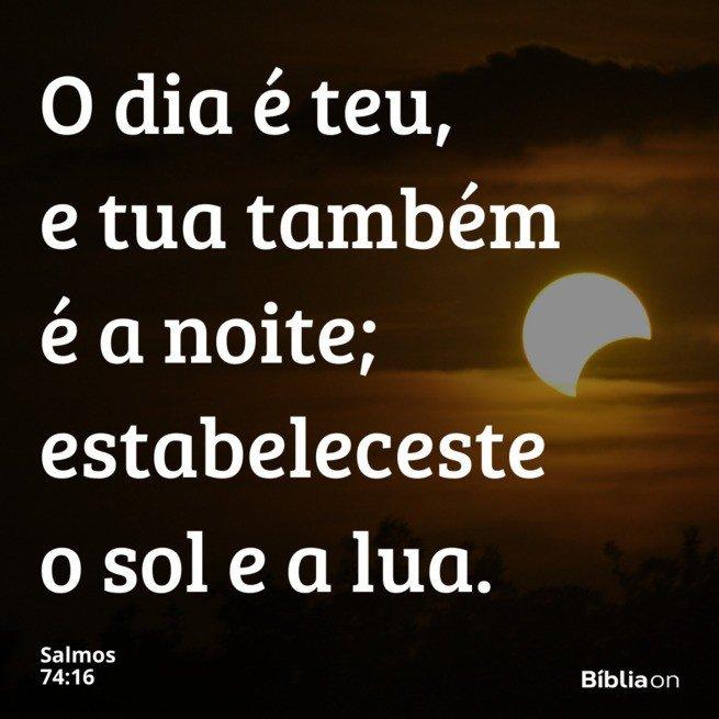 Sol e lua boa noite