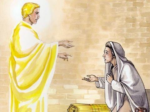Maria aceita a vontade de Deus - Lucas 1:26-38