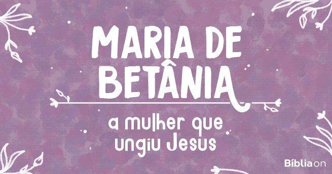 Maria de Betânia