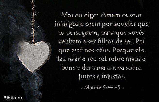 mateus 5:44-45