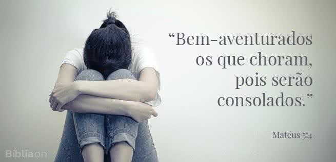 Deus consola os que choram