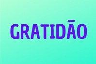 Palavras de gratidão a Deus