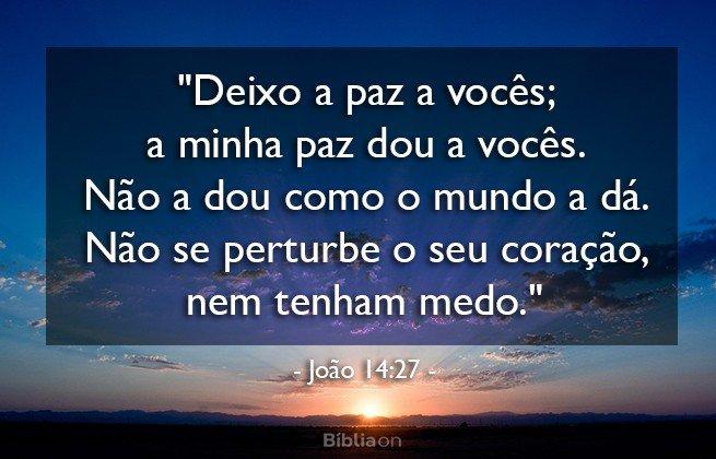 Paz João 14