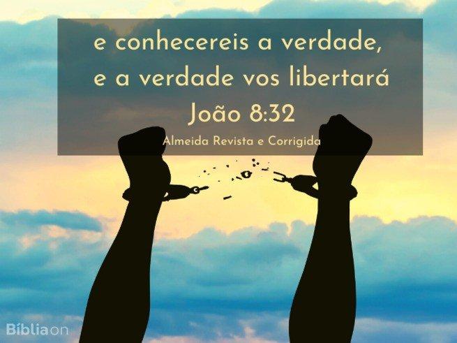 João 8:32 ARC