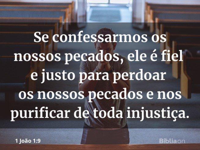 Promessas de Deus 1 João 1:9