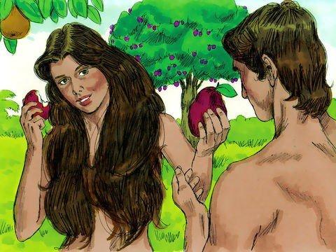Adão e Eva desobedecem a Deus - Gênesis 3