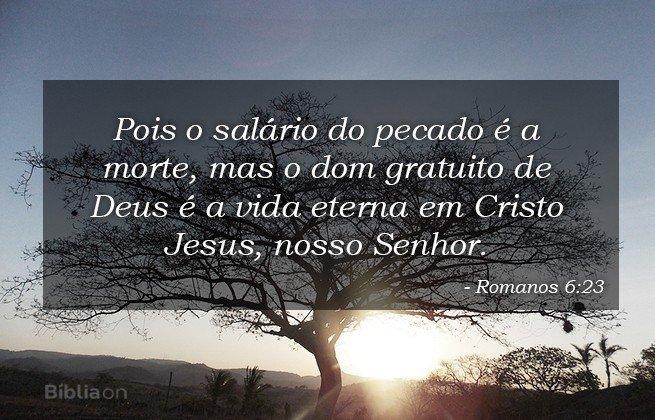 romanos 6:23