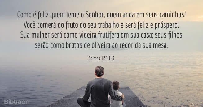 6 Versículos Para Celebrar O Dia Dos Pais Bíblia