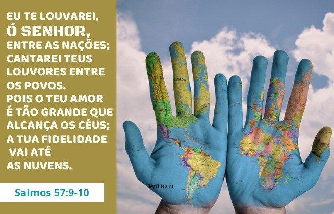 Salmos 57:9-10