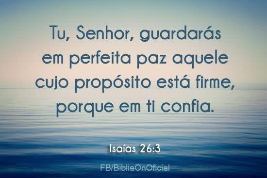 O Senhor nos guarda