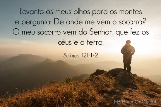 O Senhor é o meu socorro