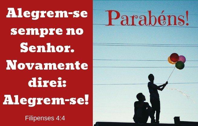 Vers. Aniversário Fil. 4:4