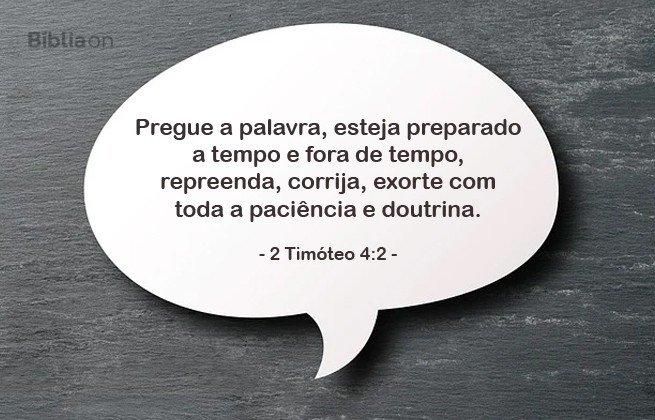 2 timóteo 4:2