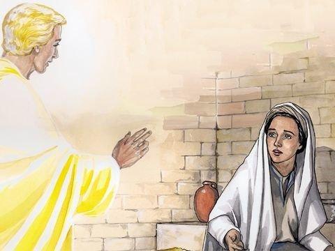 O anjo Gabriel aparece a Maria - Lucas 1:26-38