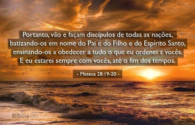 Mateus 28:19-20
