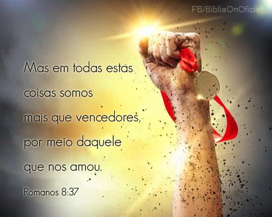 Você é mais que vencedor em Cristo Jesus