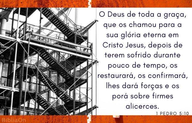 Construção - 1 Pedro 5:10