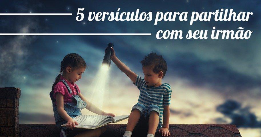 Descubra A Alegria De Deus Nestes 5 Versículos: 5 Versículos Para Partilhar Com Seu Irmão