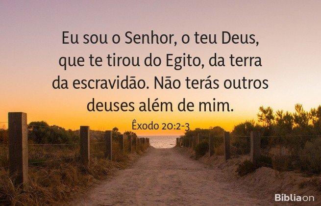 Êxodo 20:2-3